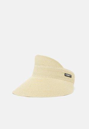 SLATER VISOR UNISEX - Cappellino - natural