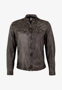 Capitano - Leather jacket - grey - 3