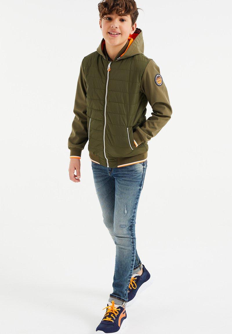 WE Fashion - Jas - army green