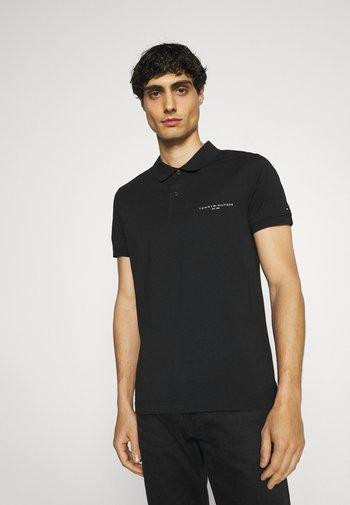 CLEAN SLIM - Poloshirt - black