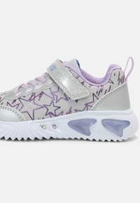 Geox - ASSISTER GIRL - Trainers - silver/lilac - 6