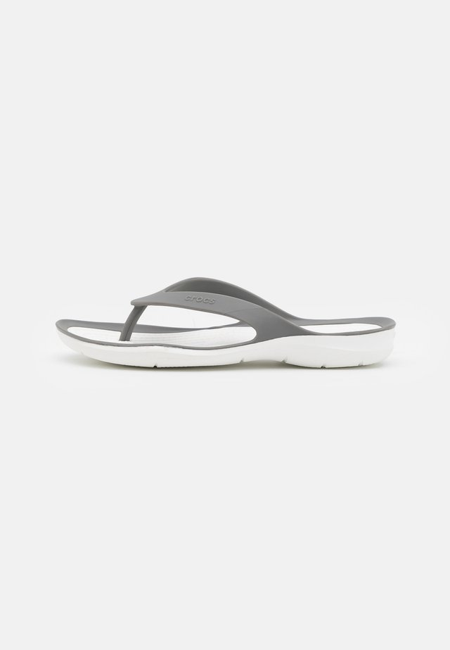 SWIFTWATER - Chanclas de dedo - smoke/white