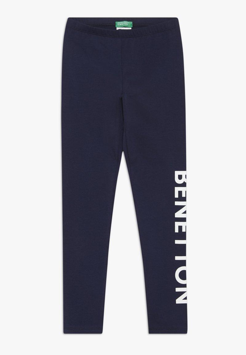 Benetton - Leggings - dark blue