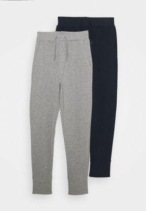 NKMVASIMO PANT 2 PACK - Teplákové kalhoty - grey melange/dark sapphir