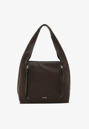 MAGGY - Handbag - chestnut