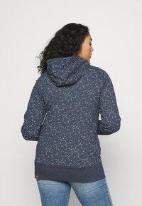 Ragwear Plus - YODA ORGANIC - Zip-up hoodie - navy - 2
