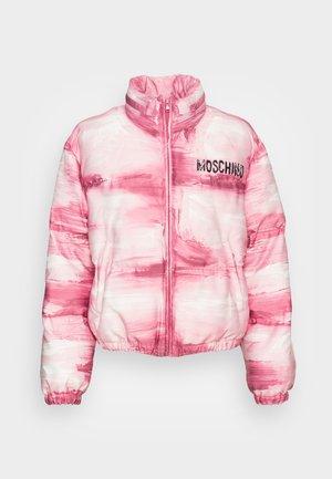 KNITTED - Winterjacke - pink
