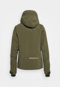 Salomon - EPIC - Winter jacket - olive night/martini olive/white - 10