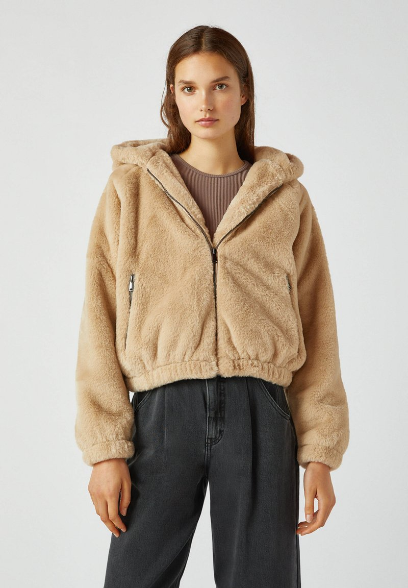 PULL&BEAR - Light jacket - mottled beige