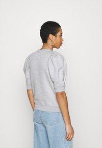 Second Female - DAWNI TEE - T-shirt imprimé - grey melange - 2