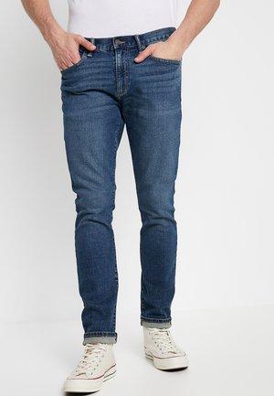 Skinny džíny - dusty indigo