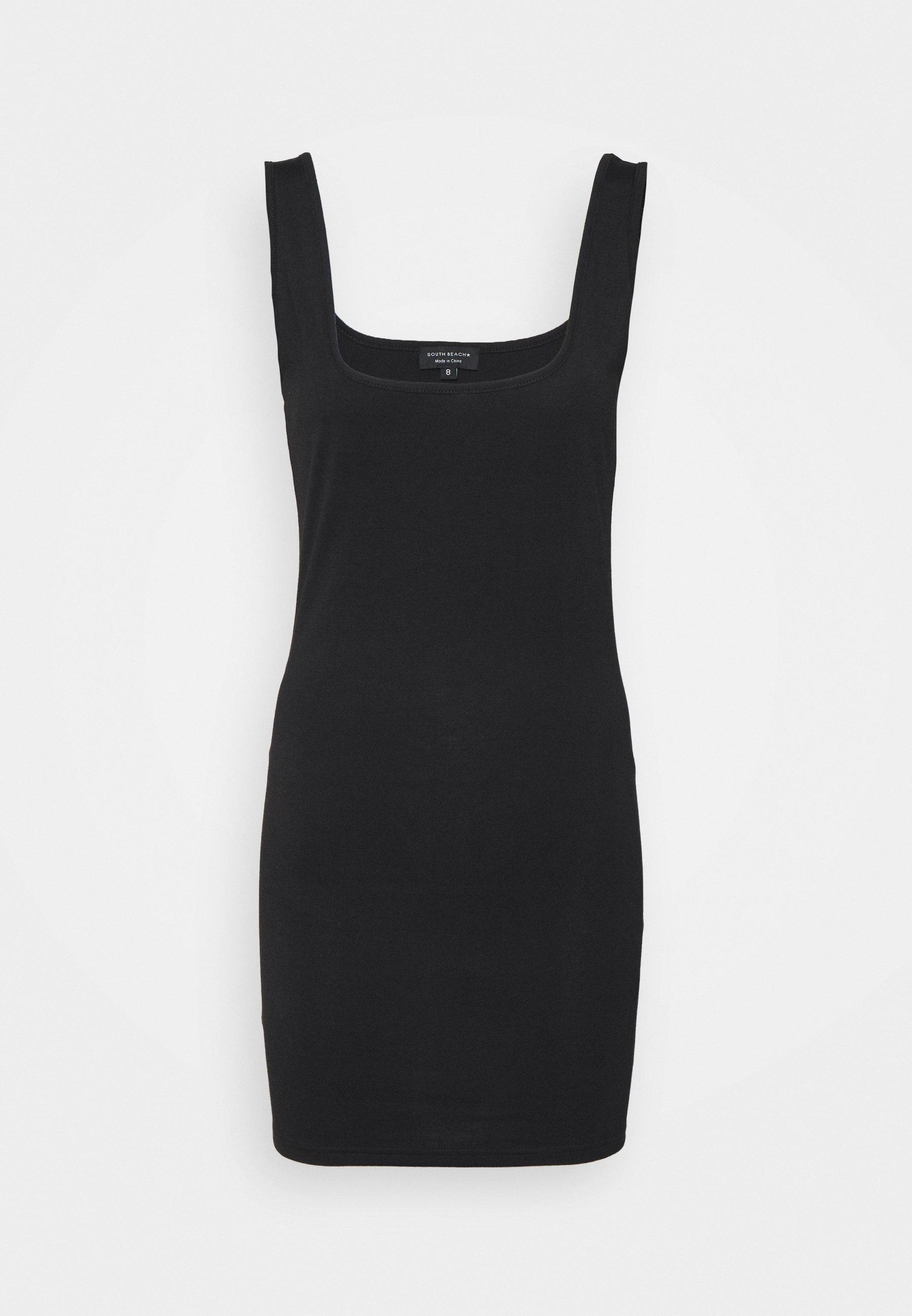 Women SUSTAINABLE SQUARE NECK MINI DRESS - Jersey dress