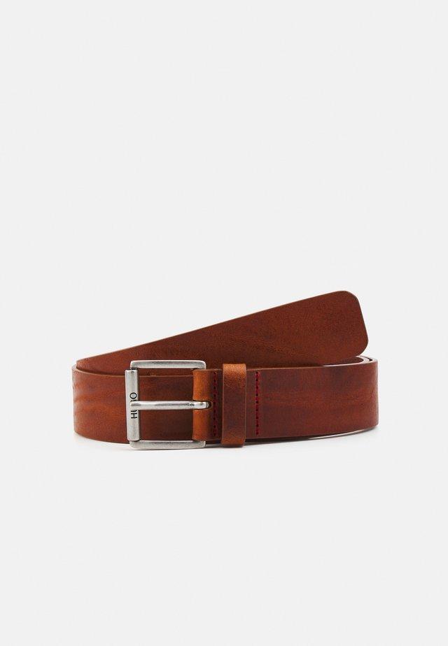 GABI - Belt - medium brown