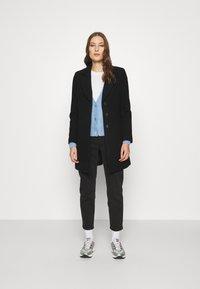 Banana Republic - MELTON - Classic coat - black - 1