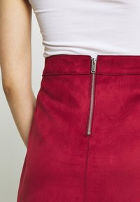 ONLY - ONLLINEA BONDED - A-line skirt - rhubarb - 4