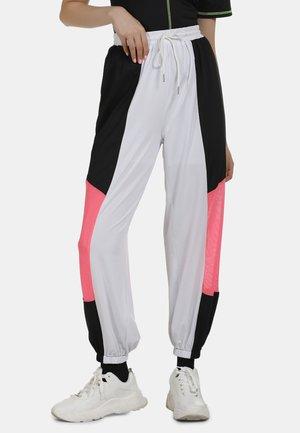 Teplákové kalhoty - noir blanc