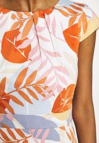 More & More - DRESS SHORT - Cocktail dress / Party dress - melon multicolor - 6