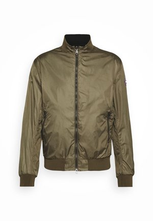 MENS REVERSIBLE - Summer jacket - olive