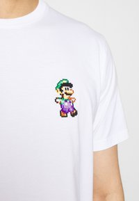 Bricktown - LUIGI SMALL - T-shirt print - white - 5