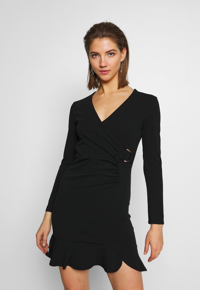 BRITNEY - Shift dress - black
