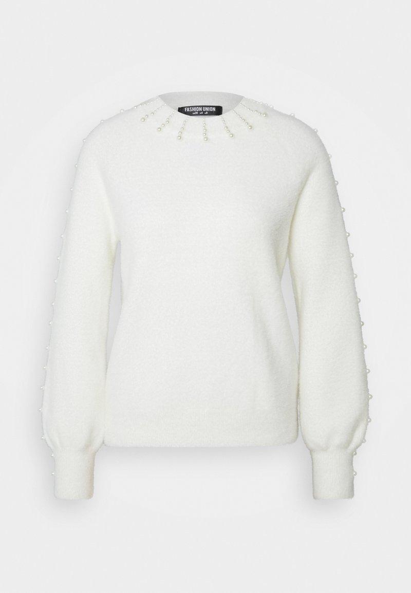 Fashion Union Tall - Jersey de punto - cream