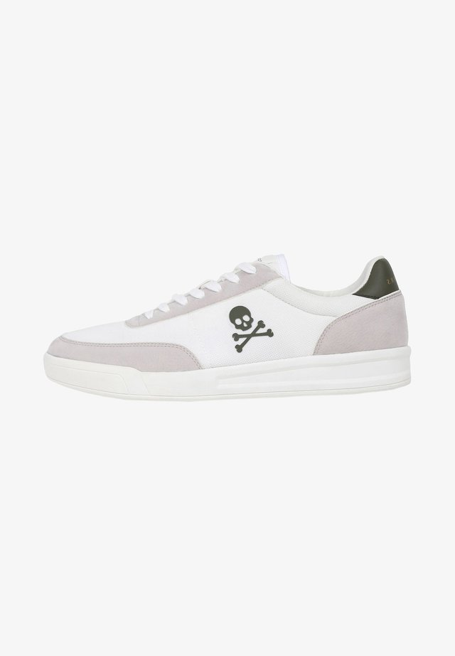 SKULL - Sneakers basse - white