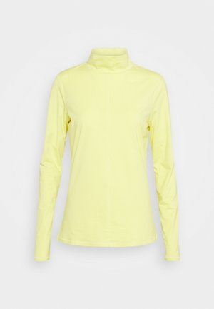 Long sleeved top - lime yello