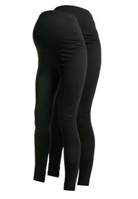 Anna Field MAMA - 2 PACK - Leggings - black - 0
