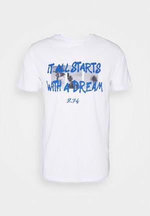 DREAM TEE - T-shirts print - white