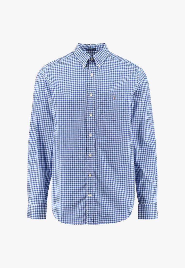 GANT - BROADCLOTH GINGHAM - Shirt - light blue