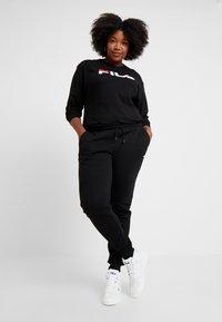 Fila Plus - PURE LONG SLEEVE - Sweatshirt - black - 1