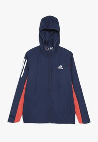 adidas Performance - RUN - Veste coupe-vent - tech indigo/vivid red/silver - 0