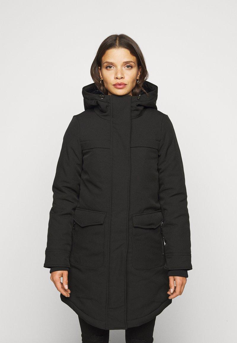 ONLY Petite - ONLMAASTRICHT JACKET  - Krótki płaszcz - black