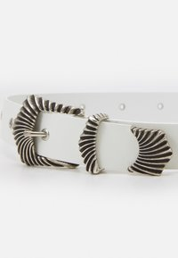 The Kooples - CHUNKY BELT - Waist belt - white - 3
