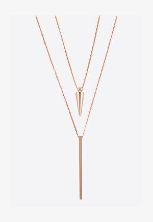 Necklace - rosegoldfarben