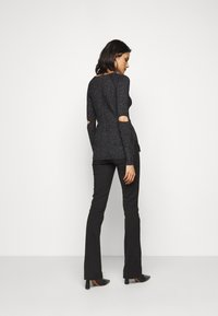 Patrizia Pepe - CUT OUT TOP - Jumper - nero - 2