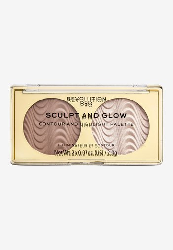 SCULPT AND GLOW SANDS OF TIME - Face palette - -