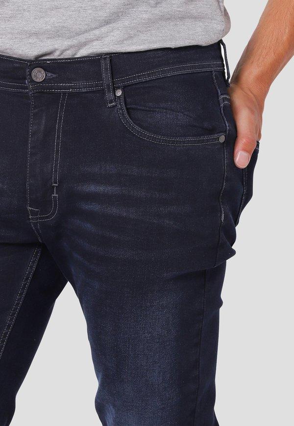 MARCUS Jeansy Straight Leg - twilight blue used/niebieski Odzież Męska YSSB