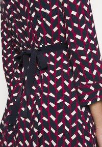 MAX&Co. - NARCISO - Vapaa-ajan mekko - burgundy - 4