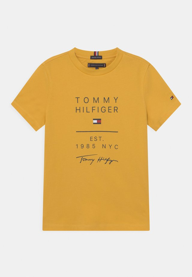GRAPHIC - T-shirt med print - midway yellow