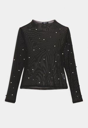 PEARL  - Long sleeved top - black