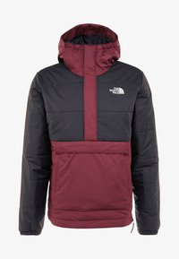 The North Face - INSULATED FANORAK - Outdoorjas - black/deep garnet red - 6