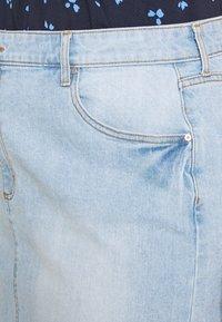 Cotton On Curve - SKIRT - Denim skirt - sky blue - 5