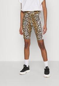 adidas Originals - LEOPARD TIGHT - Shorts - multco/mesa - 0