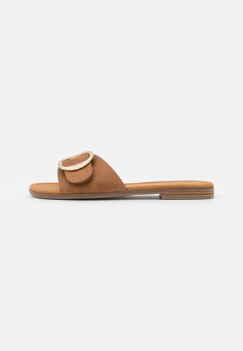 NILLA SLIP ON - Mules - brown