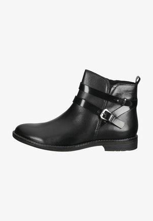 Cowboy-/Bikerlaarsjes - black ant.comb