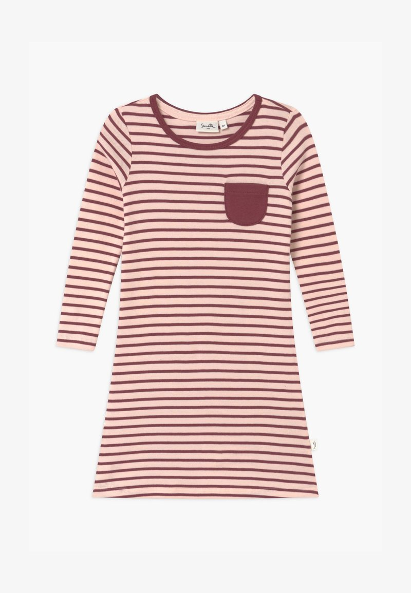 Sanetta - PURE KIDS STRIPED - Noční košile - red wine