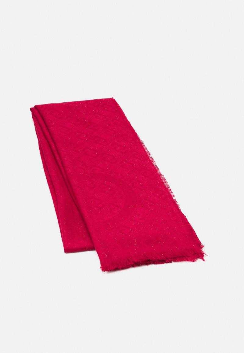 LIU JO - STOLA LOGO - Skjerf - true red