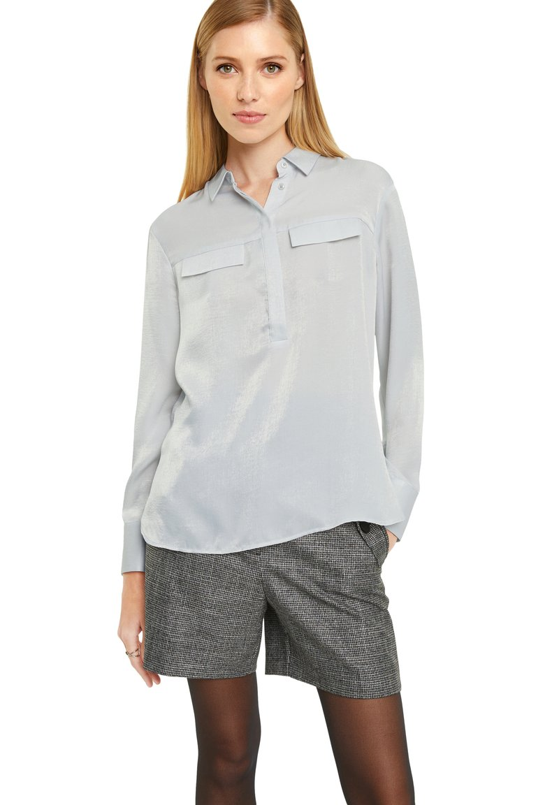 comma - Long sleeved top - silver