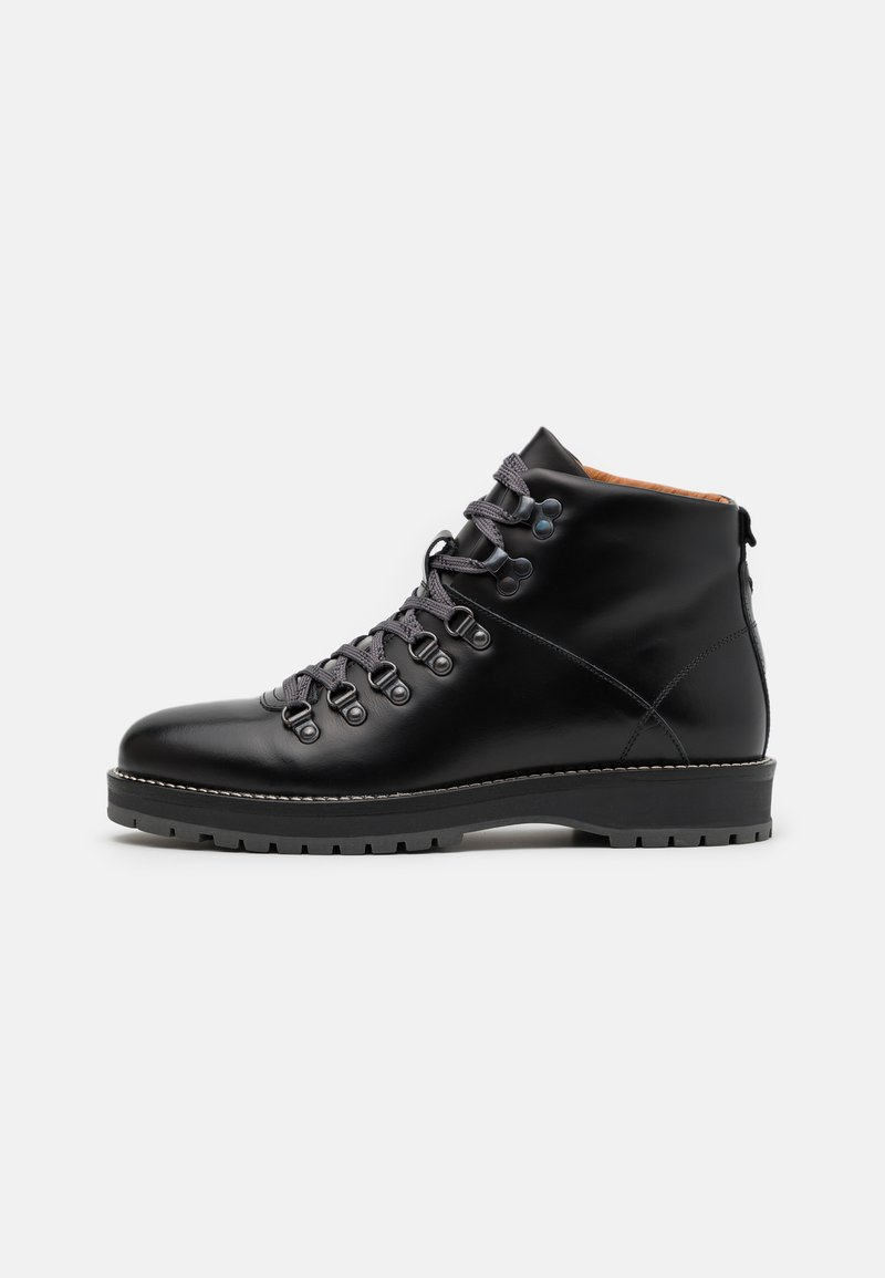 Shoe The Bear - LAWRENCE - Lace-up ankle boots - black